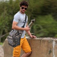 Ao ar livre Camuflagem Militar Tático À Prova D' Água Esportes Saco de Multi-funcional Messenger Pacote Caminhadas Camping Oxford Sacos de Ombro