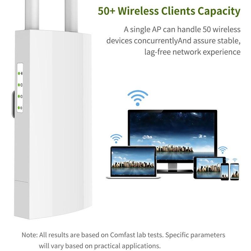 300 Mpbs routeur sans fil extérieur haute puissance large couverture Wifi routeur LCC77