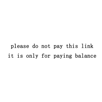$2 Please do not pay this link, it's only for paying balance or we need to send you some order again. image