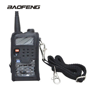 Baofeng Walkie Talkie Accessories Leather Soft Case Cover two way radio For UV-5R UV-5RE UV-5RA