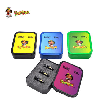 HONEYPUFF 3 x Glass Reusable Cigarette Rolling Filter Tips Rolling Paper Mouth Tips+1 Plastic Tobacco Box Stash Box Cones Maker