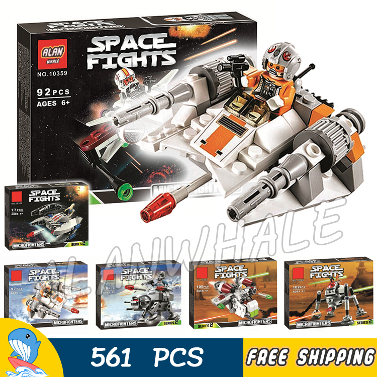 ФОТО 6 lot Bela Stars Wars The Avengers Starfighter Building Blocks Sets Model Kids Toys Compatible With lego