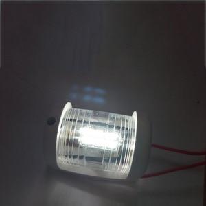 Image 5 - 12 V Marine Yacht Barca di Navigazione A LED Luce Bianca Masthead Luce Arco A Vela Lampada di Segnalazione