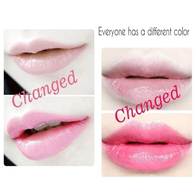 Crystal Jelly Flower Lipstick Temperature Color Changing Lip Balm Makeup Moisturizing Long Lasting Magic Lipsticks 3