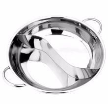 HOT SALE Stainless Steel Hot Pot Kitchen Soup Stock Pot Cookware For Induction Cookers Cooking Pot Mandarin Duck Pot