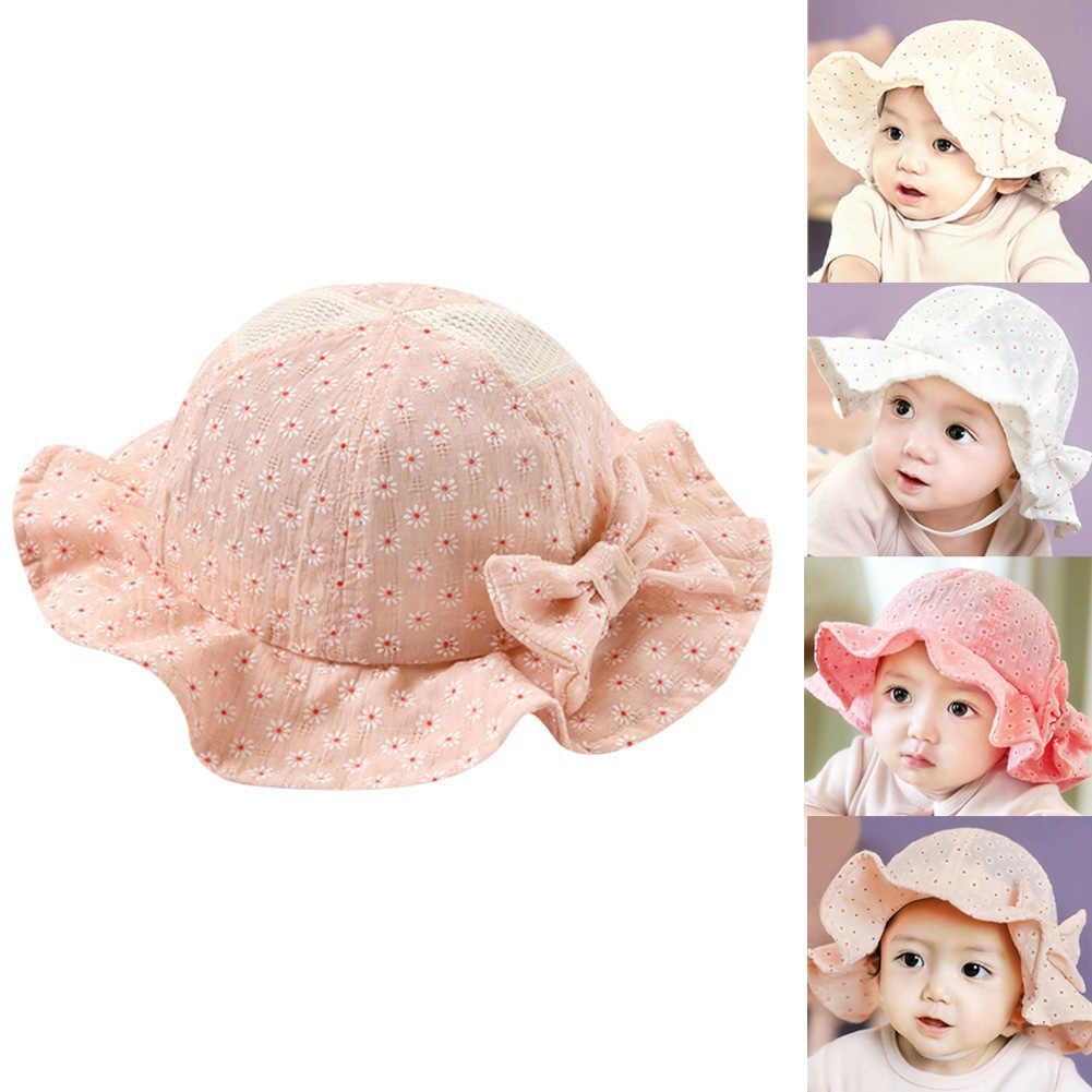 b799f658 ... Baby Girl Pink Bucket Hat Toddler Infant Sun Cap Summer Outdoor Baby  Girl Summer Hat Bucket ...