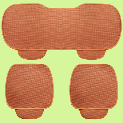 Piece set car seat covers four seasons general milk cotton breathable eco friendly slip resistant healthy trendy cushion pad in Automobiles Seat Covers from Automobiles Motorcycles