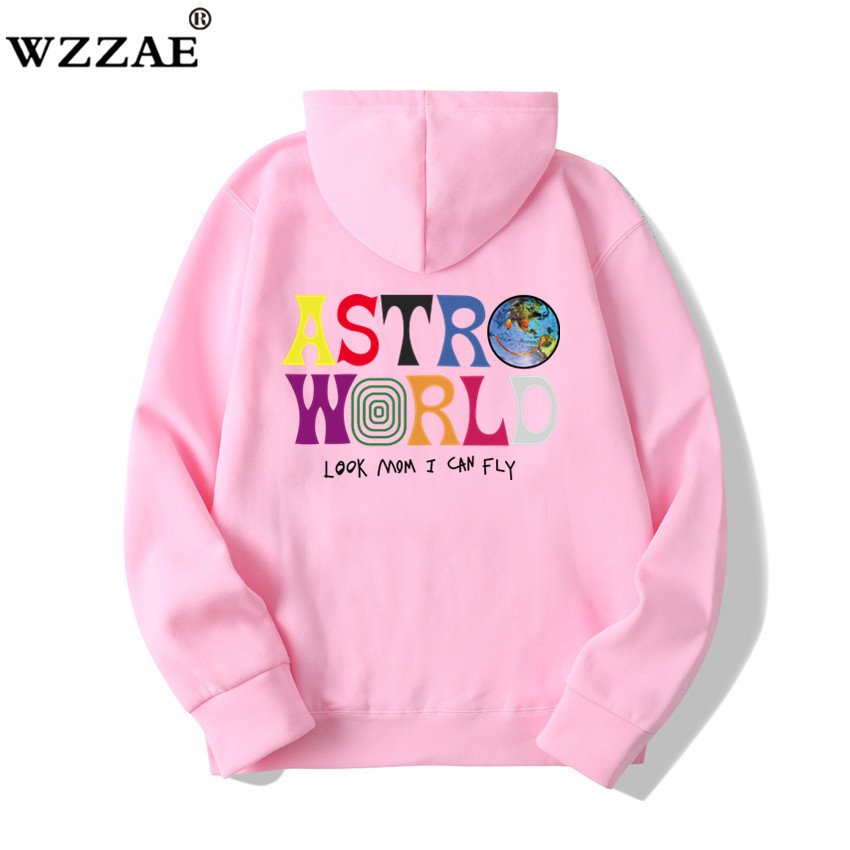 Fashion Letter ASTROWORLD HOODIE street wear Man woman Pullover Sweatshirt 5
