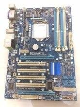 Бесплатная доставка в исходном материнская плата для gigabyte GA-H55-UD3H H55-UD3H 16 ГБ для I3 I5 I7 LGA 1156 DDR3 H55 рабочего материнская плата