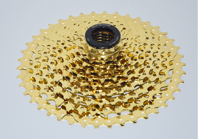 SUNSHINE 11 Speed Bicycle Freewheel Mountain Bicycle Cassette Tool MTB Flywheel Bike Parts 11-42T  mtb mountain bike bicycle 10s cassette freewheel 8 speeds flywheel 11 13 15 18 21 24 28 32 36t teeth crankset