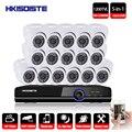 HKIXDISTE 16CH AHD 1080 p CCTV DVR Kit nachtsicht Kamera Sony 1200TVL HD Sicherheit Video Überwachung System HDMI Ausgang onvif-in Überwachungssystem aus Sicherheit und Schutz bei