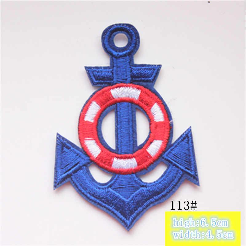 1 pc bordado hierro en parches ropa lentejuelas apliques marca POP DIY Hotfix motivo aplique Miky Arco Iris estrella pato
