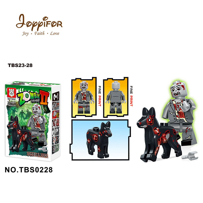 Joyyifor 6pcs Halloween Zombie War Corpse Bride Joker Skeleton