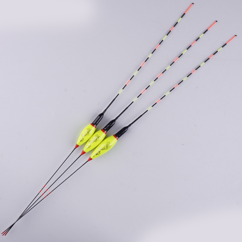 3pcs lot Luminous Float Night Fishing Float Light Led Floats For Fishing Stopper Bobber Buoy Fishing Equipment Without Battery in Fishing Float from Sports Entertainment