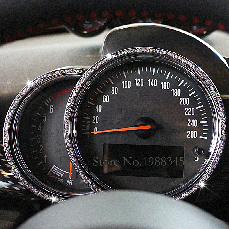 Mini car styling tachometer trim auto interior accessories for Auto interieur styling
