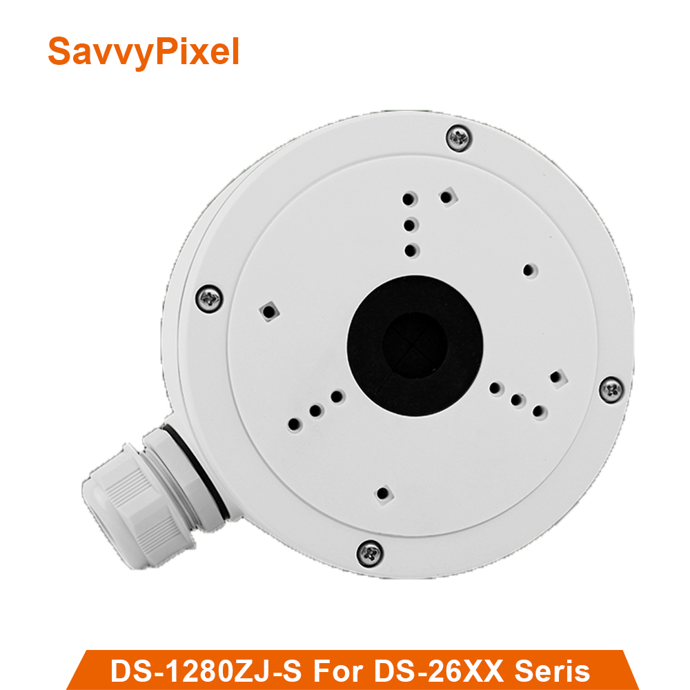 цена на CCTV camera ceiling mount bracket DS-1280ZJ-S holder for Mini Dome DS-2CD2042WD-I&DS-2CD2642FWD-IZS vedio surveillance
