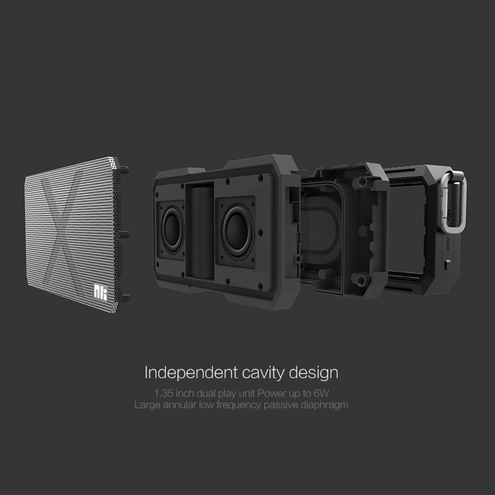 Nillkin Altavoz Bluetooth Inalámbrico Banco de Potencia Caja de - Audio y video portátil - foto 2