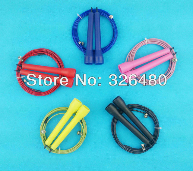 [wholesale / dropship available] 3Meters #1 JPA Speed Cable Jump Rope  Crossfit / skipping rope