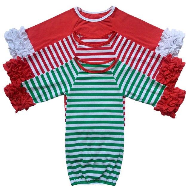 girls christmas nightgown ruffle dress girls christmas pajamas red - Girls Christmas Nightgowns