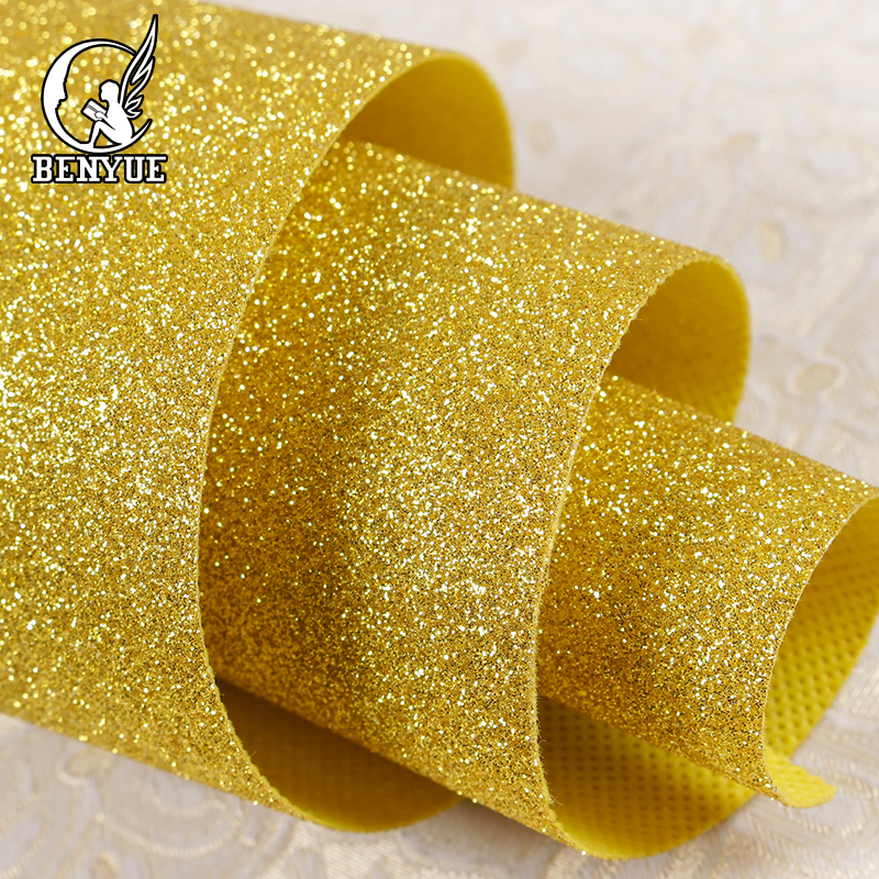benyue Modern Glitter 3D Wallpaper roll Home decor Living Room Fabric Wallpapers silver Bling flash Wall