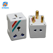 Nam Phi To Tròn 3 Pin Điện AC Phích Cắm Điện Du Lịch HOA KỲ EU ANH ÂU Cắm Ổ Cắm Ổ cắm Bộ Điều Hợp CẦU CHÌ 15A