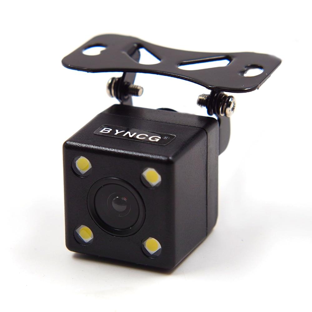 170 Degree 4 LED Lamp Night Vision Car Parking Rear View Camera Reversing Backup Waterproof HD