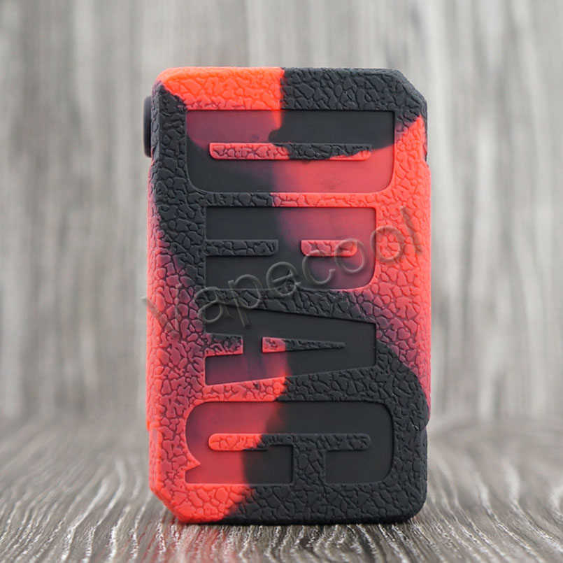 20pc Texture cover case for VOOPOO DRAG MINI 117w Box Mod Rubber Silicone Vape Skin Warp
