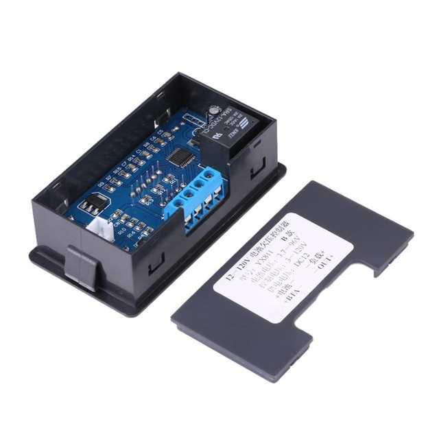 20A Battery Undervoltage Protection Controller Low Voltage Cut off  Automatic Control Switch for 12V Storage Lithium Battery