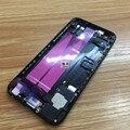 Alta Calidad Nueva batería asamblea Cubierta de La Contraportada con piezas pequeñas para iphone 6 estilo 7 como 7 chorro de envío libre negro