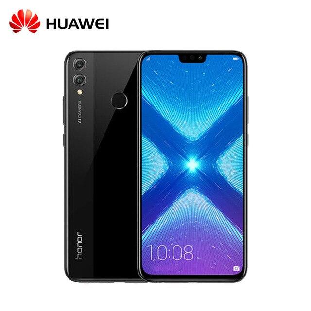 Original Huawei Honor 8X honor8X 6.5 inch OTA Update LTE Smartphone Android 8.1 Octa Core 1.5GHz 6.5 Inch Screen
