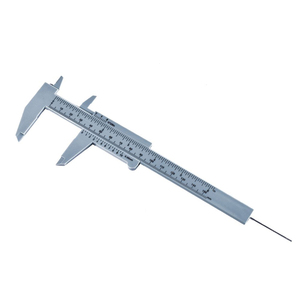 150mm Caliper Plastic Measuring Tool Portable Vernier Caliper Gauge Micrometer Eyebrow Ruler For Home School TH4