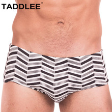 Taddlee Brand Sexy Men's Swimwear Swimsuits Swim Boxer Briefs Bikini Low Rise Surf Board Shorts Beach Trunks Bathing Suits Men