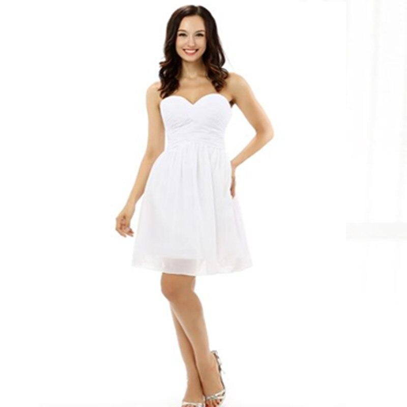 Short Formal Dresses A Line Bridesmaid Dresses Cheap