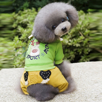 Dog Clothing Winter Christmas Poodle New Clothes For Yorkie Dogs Puppy Warmth Small Cat Coat Jacket