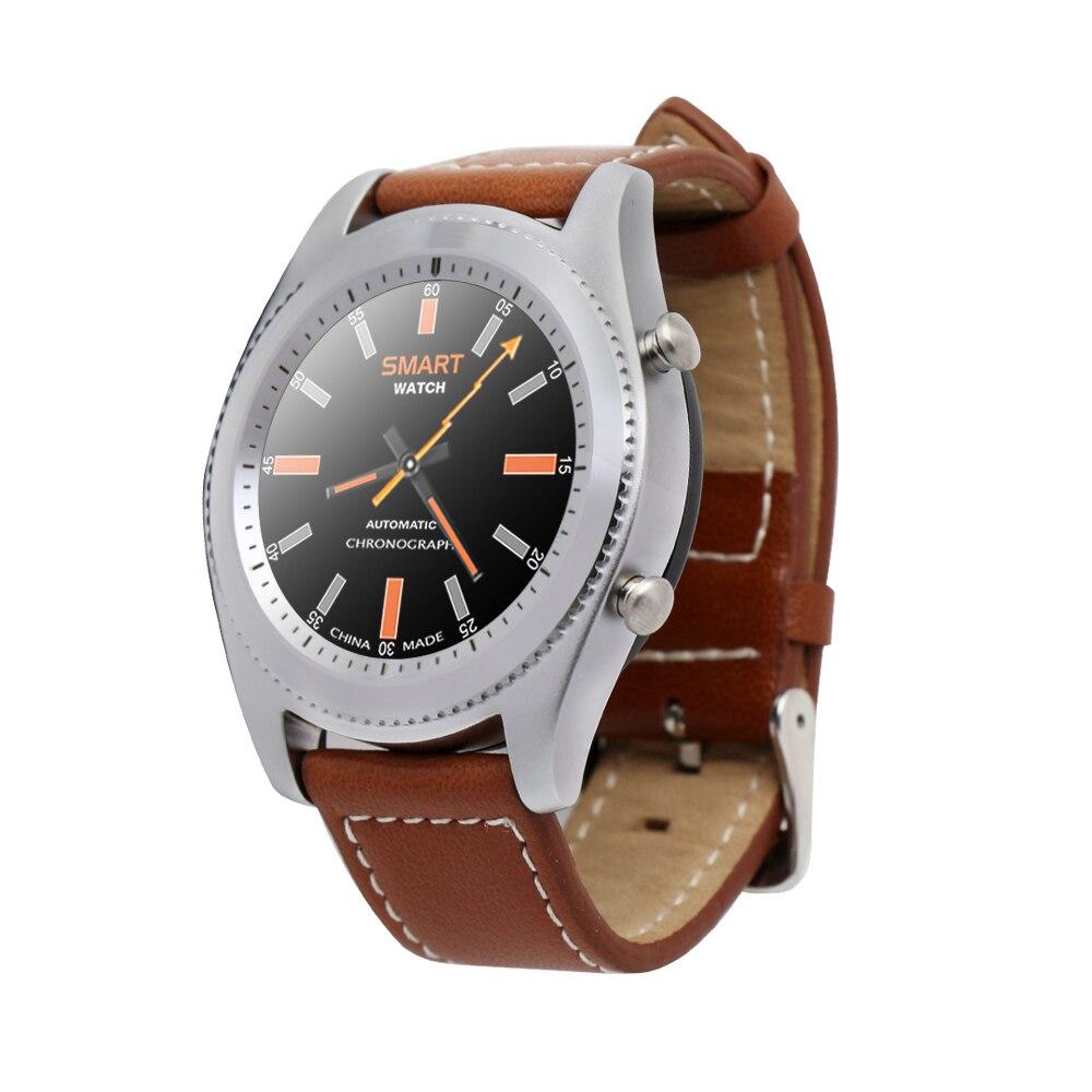 2017 Nouveau Numéro 1 S9 NFC MTK2502C Smartwatch Moniteur de fréquence Cardiaque Bluetooth4.0 montre Intelligente Bracelet appareils Portables pour iOS Android