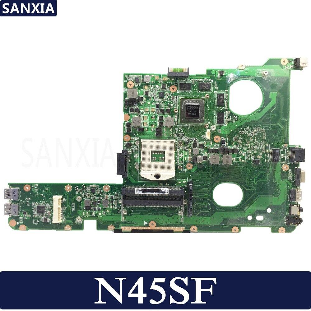 KEFU N45SF Laptop Motherboard For ASUS N45SF N45SL N45S N45 Original Mainboard 100%Test