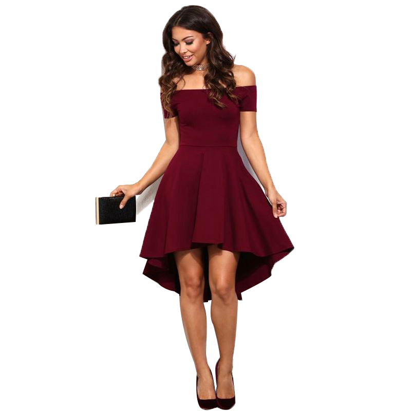 Summer Dress 2017 New Arrival Women Off Shoulder Party Dresses ...