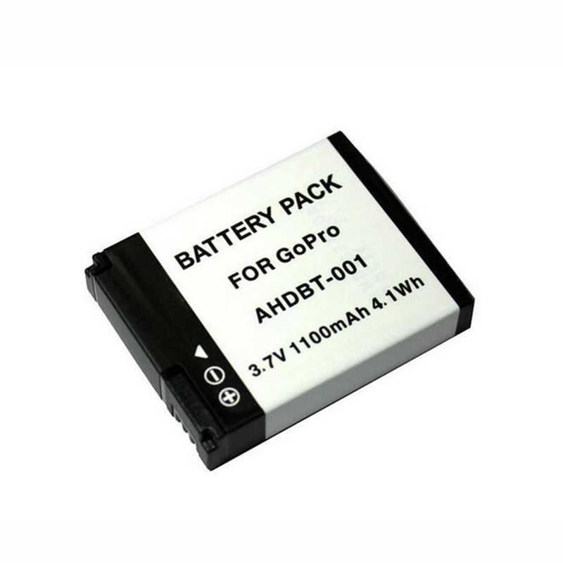 100% NEW 1100mAh AHDBT-001 AHDBT001 Camera Hành Động Pin cho GoPro Hero 2 1 Hero1 Hero2 AHDBT-001Battery cho Đi Pro phụ kiện