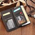 Чехол для Xiaomi Redmi note 4X  роскошный кожаный многофункциональный кошелек с 9 картами и откидной крышкой для Redmi Note 5 Pro 4X  чехол для телефона