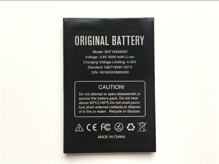 Mobile Phone Parts Wonkegonke 4500mah Bat16484000 X5 Max Pro For Doogee X5 Max Battery High Quality Mobile Phone Battery Cellphones & Telecommunications
