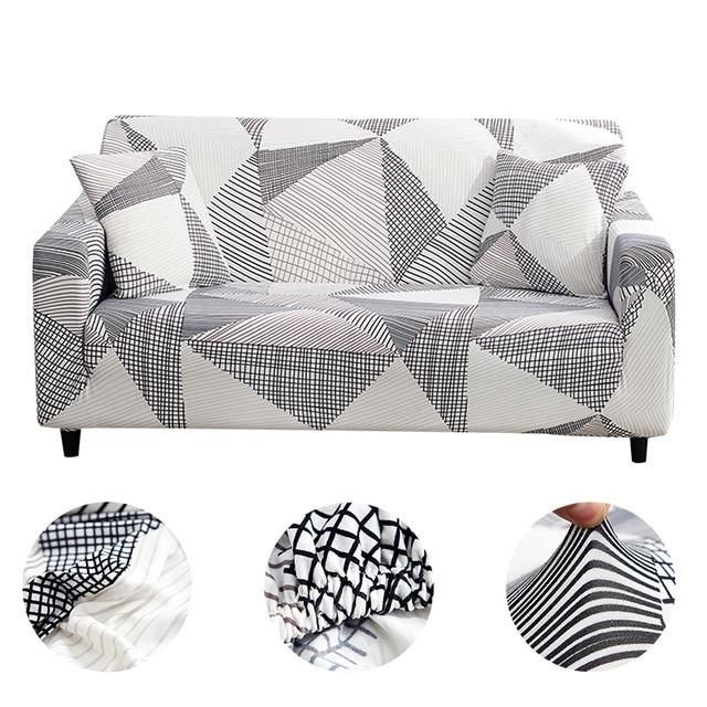 المنزل أريكة الأريكة يغطي منقوشة أريكة تمتد غطاء أريكة يغطي لغرفة المعيشة الحديثة slipأريكة التفاف ضيق 1/2/3/4 مقاعد