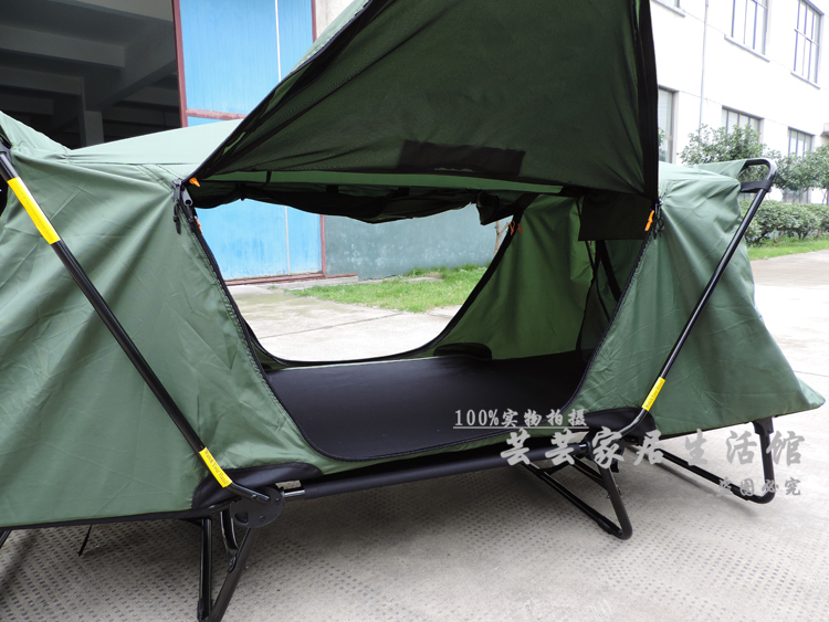 Auto export tent c& set up off the ground bed tent bed tent outdoor c&ing essential leisure-in Sun Shelter from Sports u0026 Entertainment on Aliexpress.com ... & Auto export tent camp set up off the ground bed tent bed tent ...