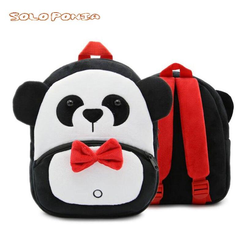 555aff406fe Kids Bags For Girls Cute Plush Panda Backpacks For Boys Preschool Bags Baby Toddler  Backpack Kindergarten