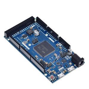 Image 5 - Offizielle Kompatibel DURCH R3 Bord SAM3X8E 32 bit ARM Cortex M3 / Mega2560 R3 Duemilanove 2013 Für Arduino Due Bord mit Kabel