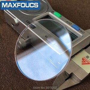 Image 3 - Szkiełko zegarowe szafirowe szkło AR niebieska powłoka płaska grubość 1.2mm średnica 26 mm do 39.5mm ,2 sztuka darmowa wysyłka