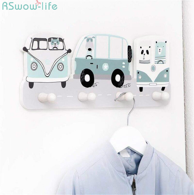 Children Clothing Shop Window Decoration Practical Clothes Hats Overcoat Hook Photography Props BedRoom Living Room No Nails