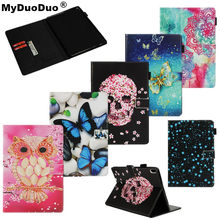 Fashion Print Case For Lenovo Tab 4 10 TB-X304L/TB-X304F/TB-X304N Smart Cover PU Leather For Lenovo Tab 4 10 Case Funda Tablet(China)