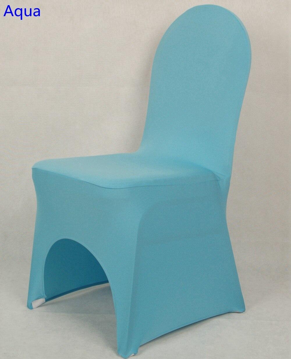 Aqua Colour Chair Covers Spandex Chair Covers China