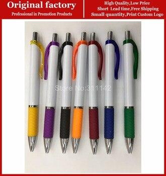 New design office stationery roller pen promotional custom white ballpoint pens for signing