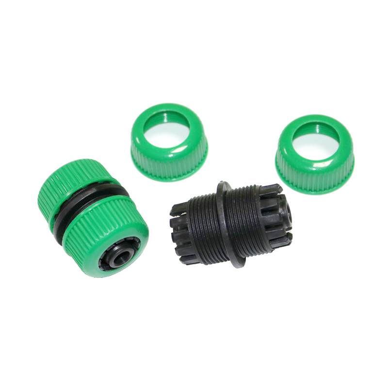2pcs G1/2Garden Hose Fittings Quick Connectors Repair Tools Extension Adapter Farm Irrigation Header Drip Tape For Irrigation
